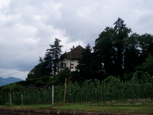 Vista di un celebre castello...