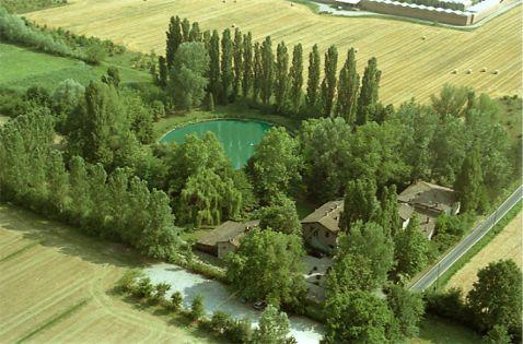 Villa Gaidello dall'alto