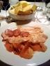 Gnocco fritto e salumi, (Osteria la Fefa, Finale Emilia)