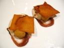 Il parmigiano reggiano: allenamenti sensoriali [versione 2009, omaggio a Luigi Cremona]. (Luca Marchini, ristorante l'Erba del Re, Modena)