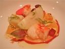 Sangria di Astice (Alberto Faccani, ristorante Magnolia, Cesenatico)